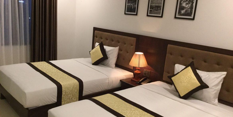 nam son hotel - twin room